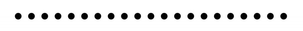dotted line