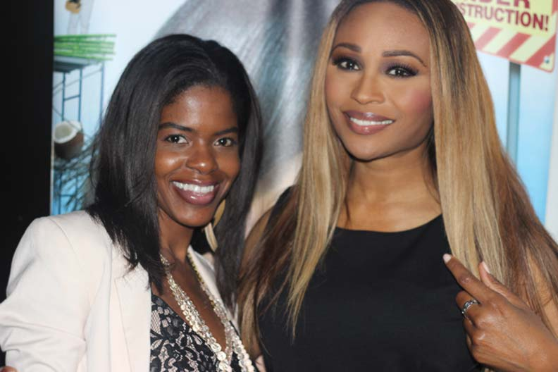 MMIM me and Cynthia Bailey