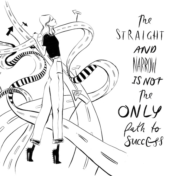#GIRLBOSS straight and narrow image