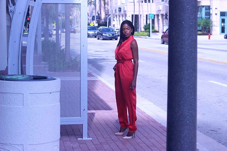IMG_4829edit Rachel Roy coral orange jumpsuit romper_sml
