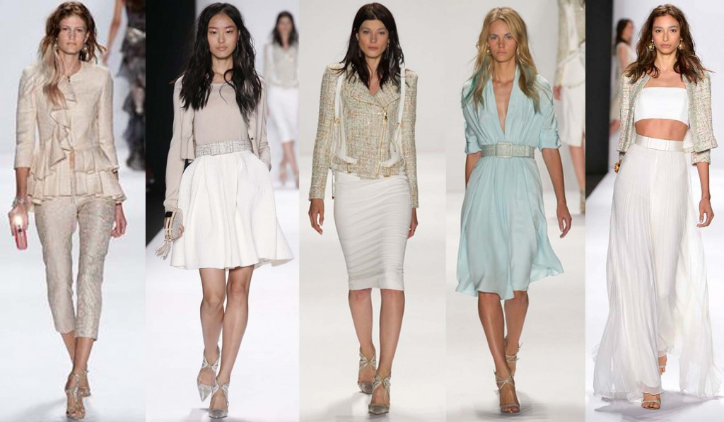 Badgley Mischka NYFW Spring Summer 2015 looks
