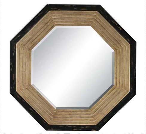 Gold Octagon Mirror thumb