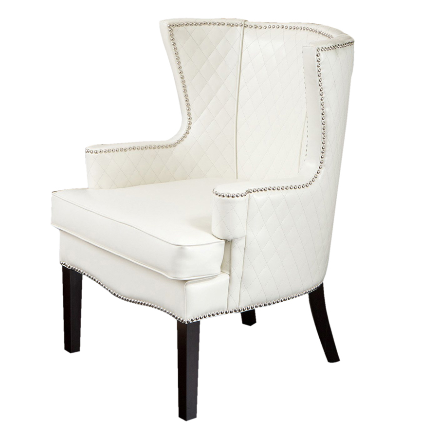 Roma White Accent Chair Lowes thumb