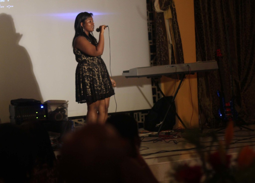Charity dinner performance event Borgne Haiti