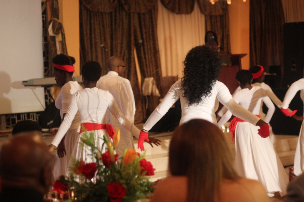 Charity dinner performance praise dance event Borgne Haiti