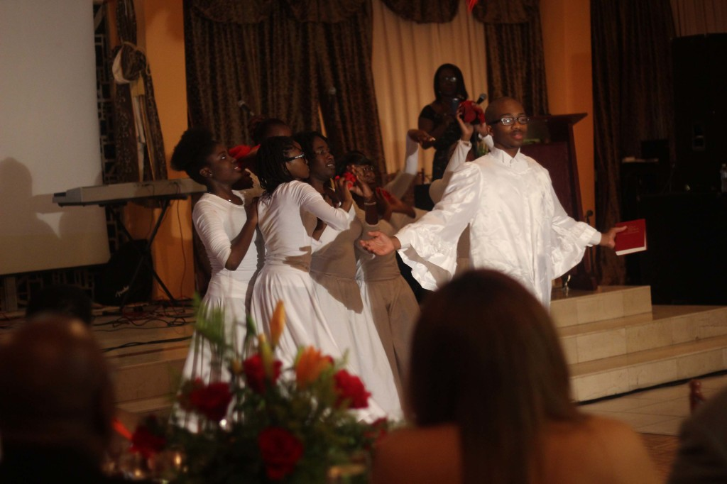 Charity dinner praise dance 2 event Borgne Haiti