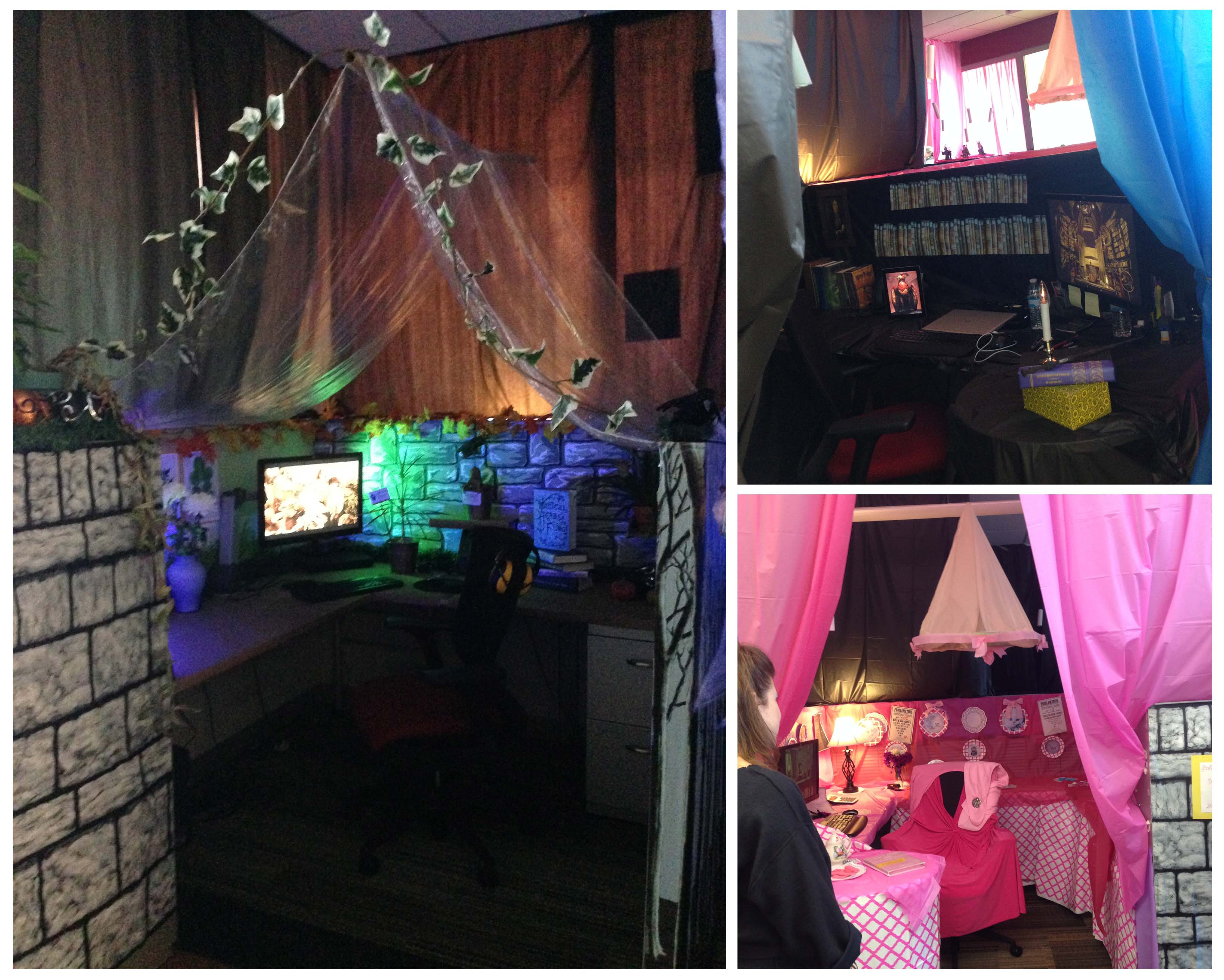 Decorating Ideas > Halloween At The Office 2014 ~ 103118_Halloween Decorating Cubicle Ideas