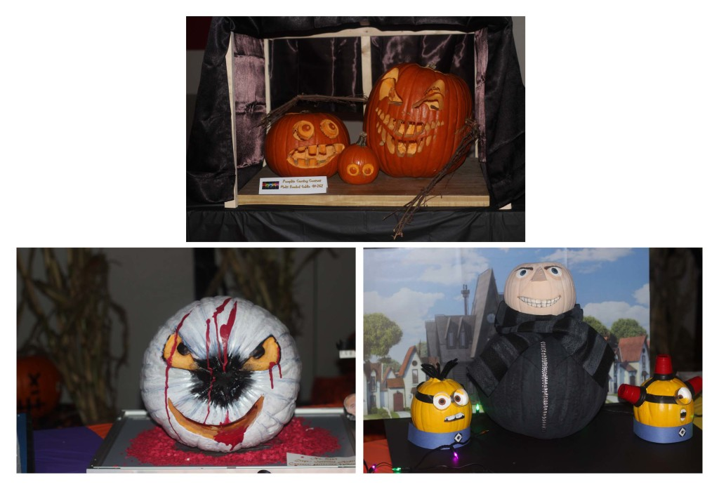 Jac O' Lantern pumpkin carving contest