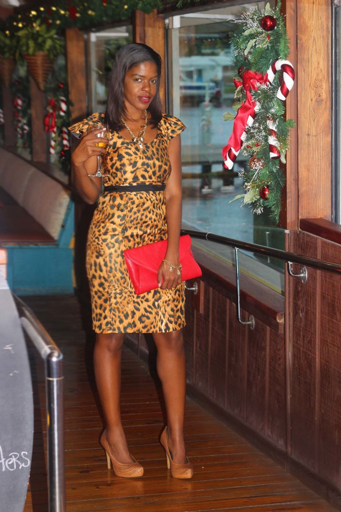 Leopard print pencil dress holiday party_sml_6190