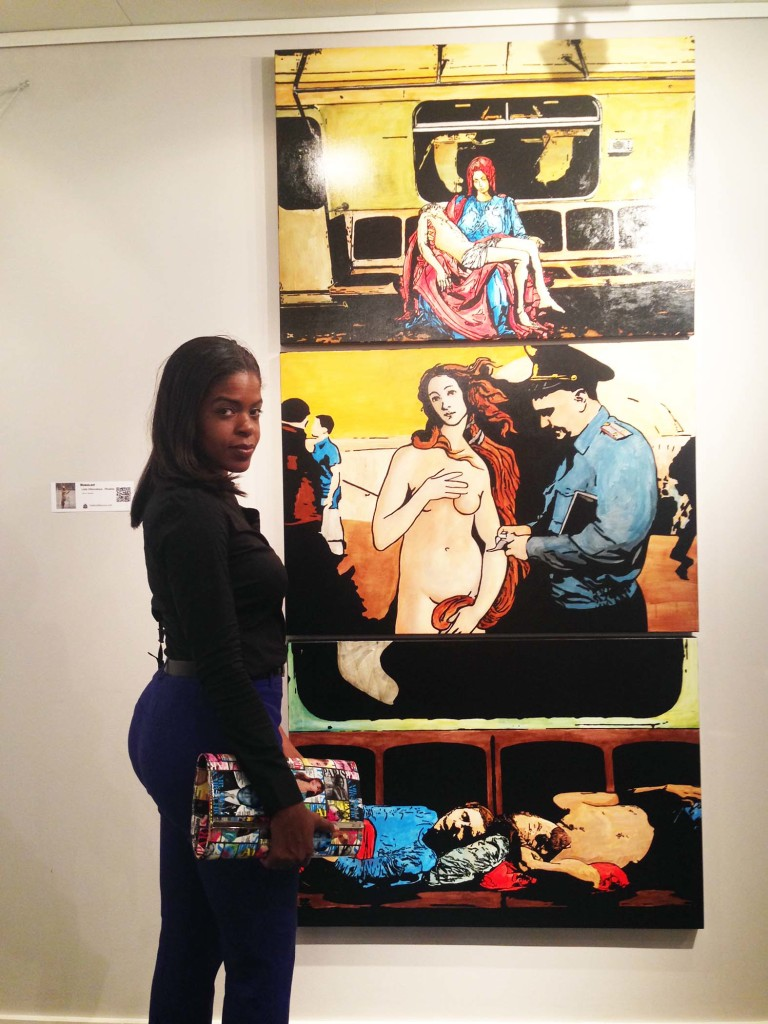 Next to painting Concept Art Fair Sea Fair Art Basel Miami 2014
