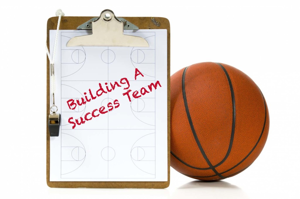 build a success team basketball play imgae