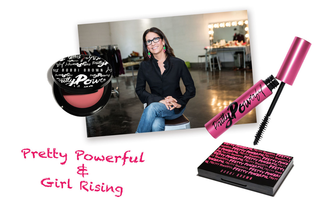 Bobbi Brown Pretty Powerful Girl Rising Collage