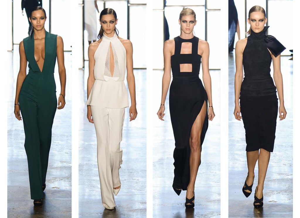 Cushnie et Ochs top 4 Fashion Week Fall Winter 2015 - 2016