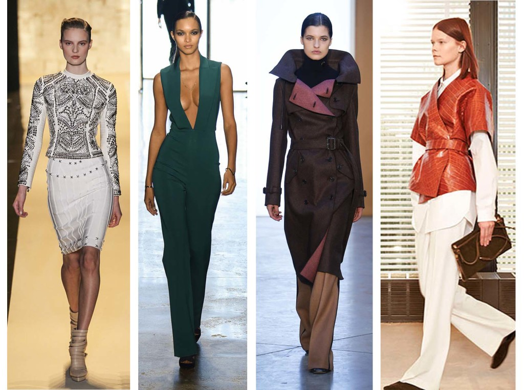 Favorite looks top 4 Fashion Week Fall Winter 2015 - 2016
