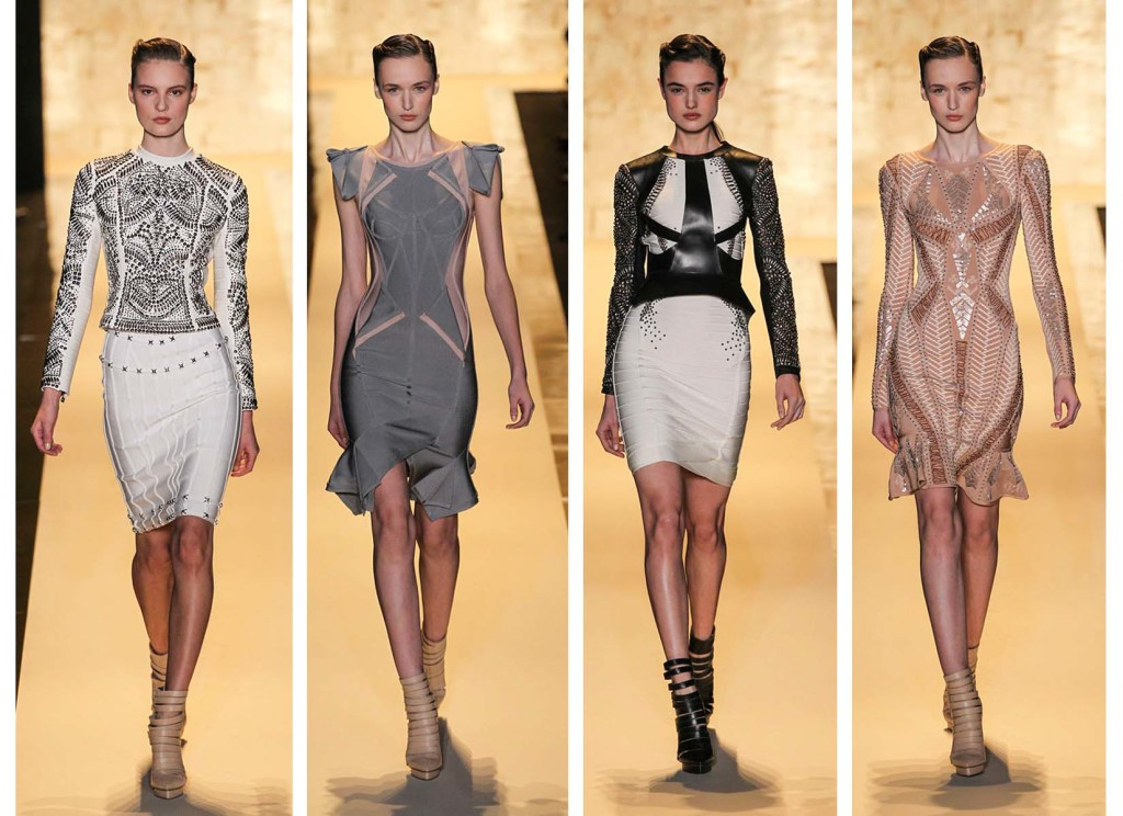 Herve Leger top 4 Fashion Week Fall Winter 2015 - 2016