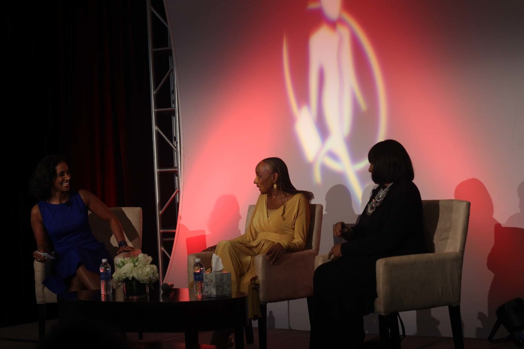 Real Talk Women of Power Summit Susan Taylor Pam Grier