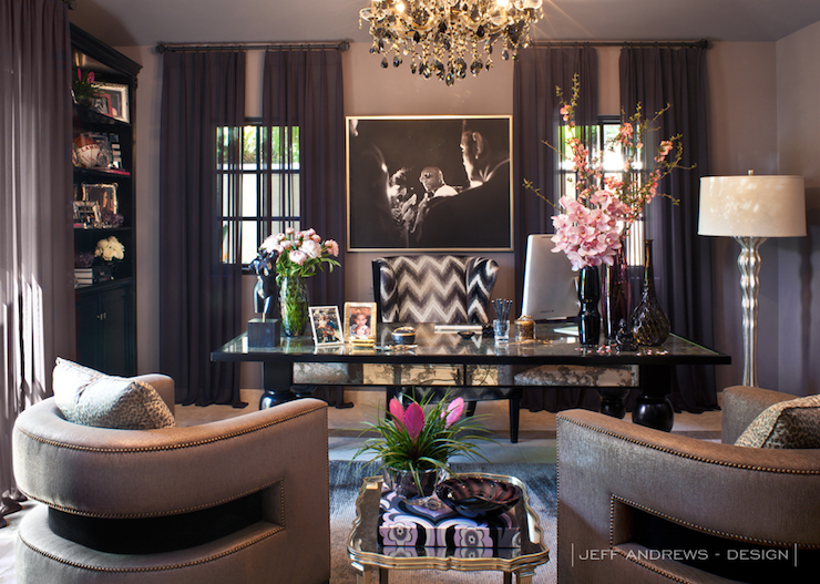 Khloe Kardashian Inspired Home Office