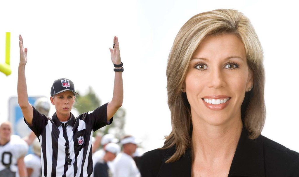 Sarah Thomas NFL 1st female official
