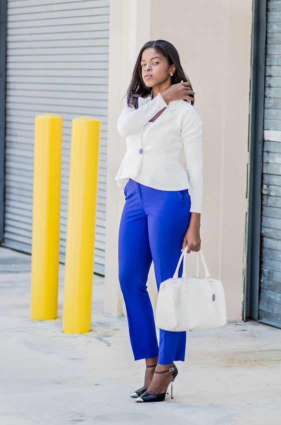 white peplum blazer purple ankle pants IMGP5260-3