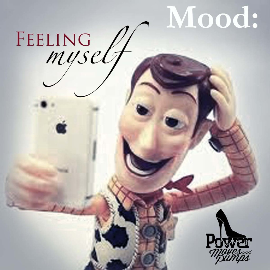 woody selfie feeling myself social tag