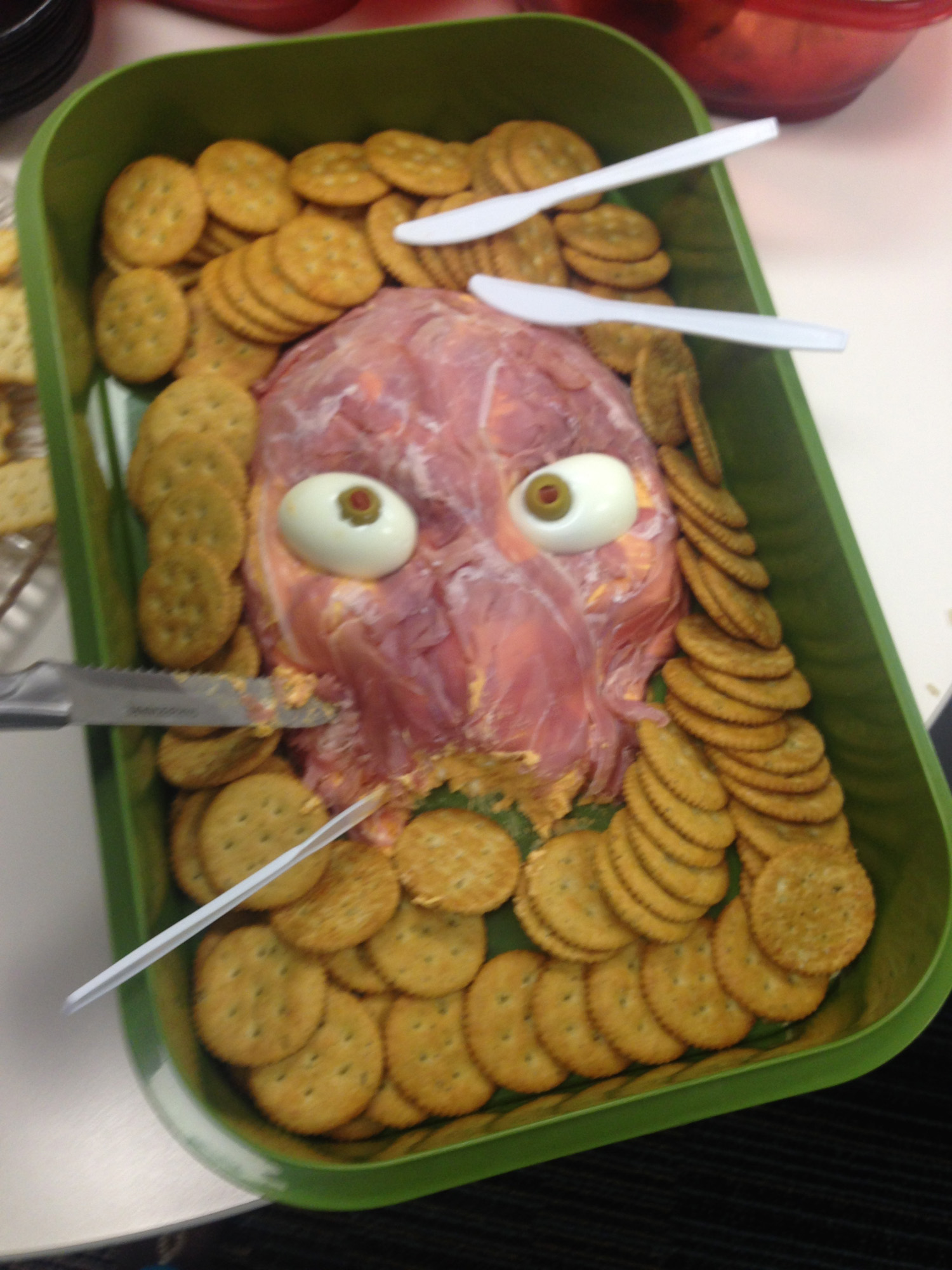 6887 Office Halloween food