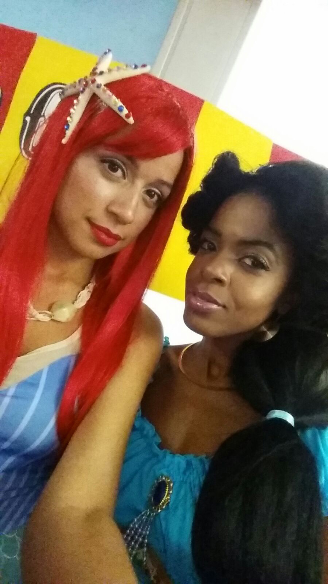 6944 Office Halloween Princess Jasmine and Ariel