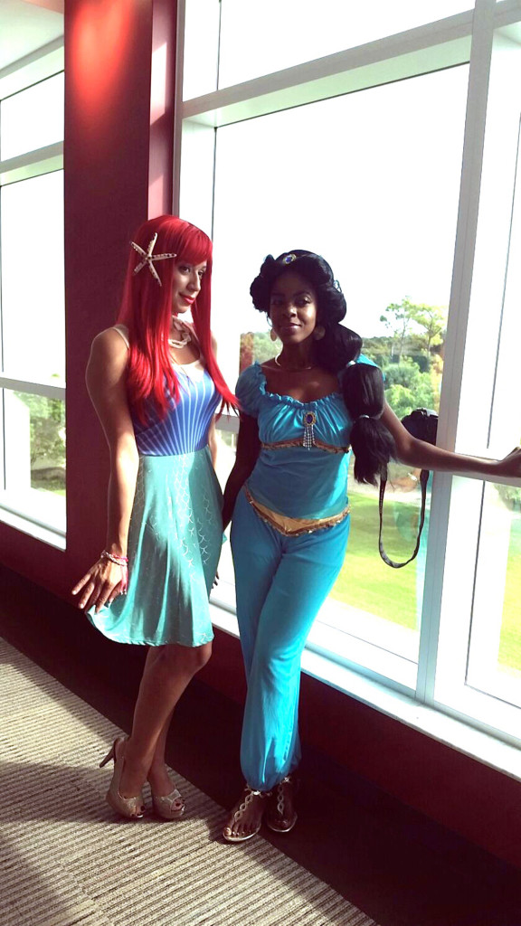 6951 Office Halloween Princess Jasmine and Ariel