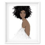 enchanted natural hair fashion print hess